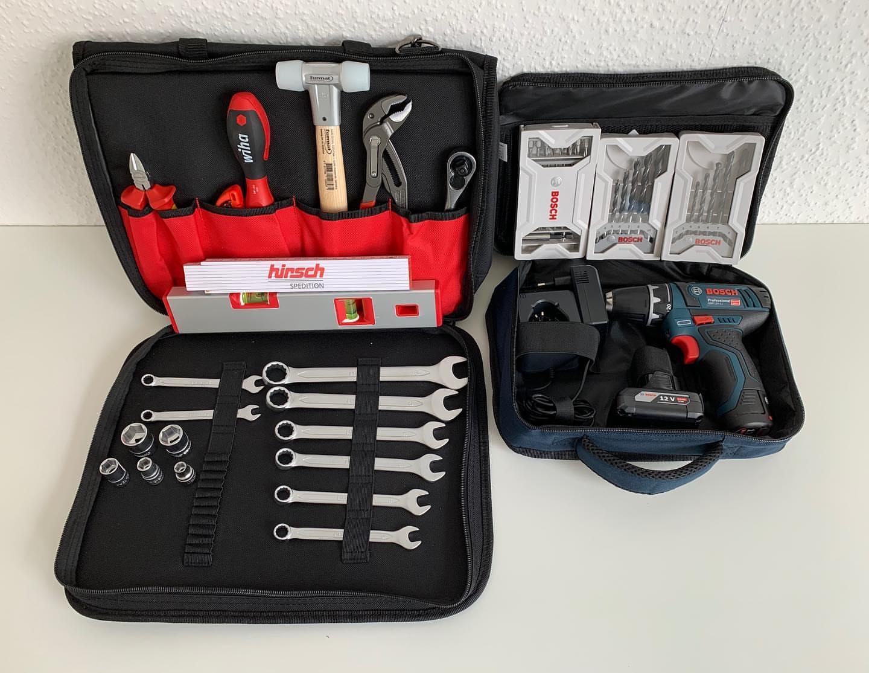 Unsere Werkzeugtasche