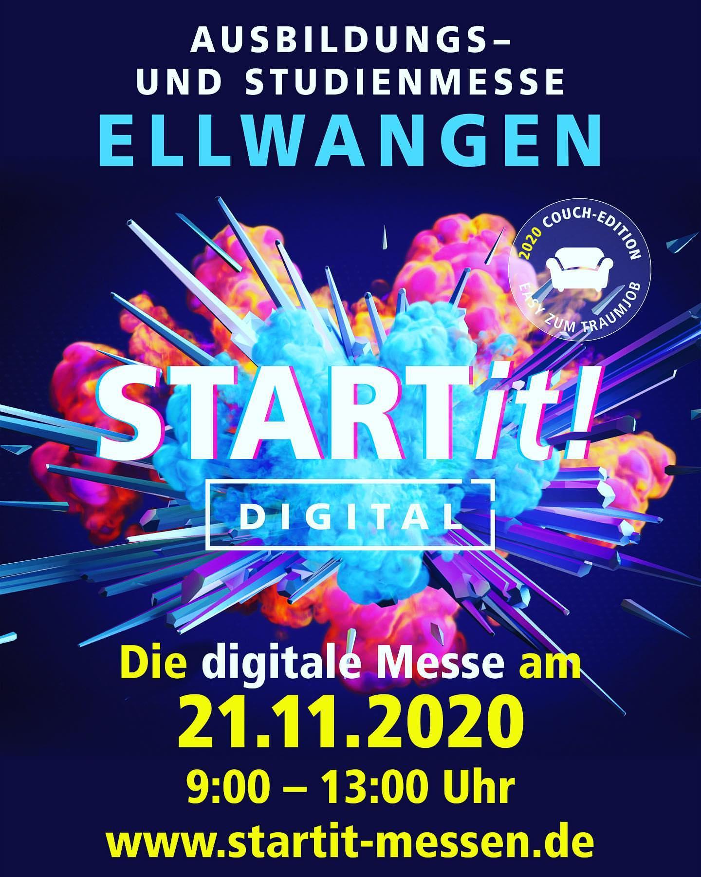 Digitale Ausbildungsmesse am 21.11.2020